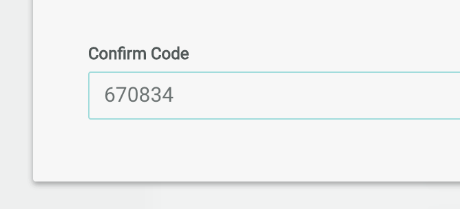 Enter the passcode shown in your authenticator app.